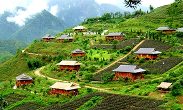 Sapa tourist areas for visitors