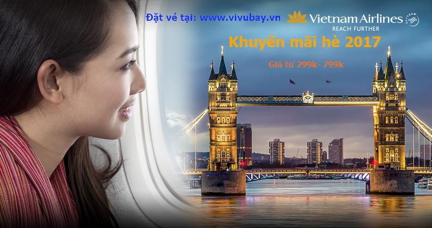 Vietnam airline khuyến mãi chào hè 2017